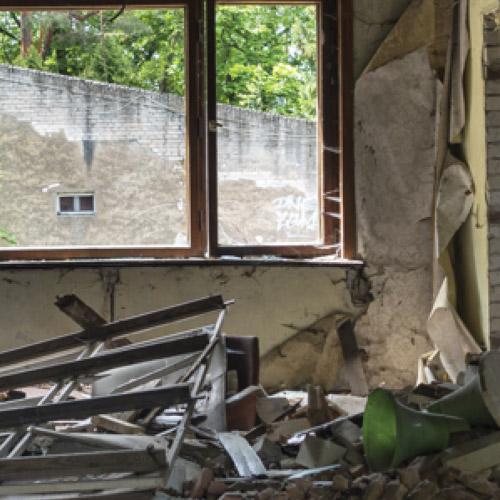 Entsorgung von Beton, Steingut, Ziegel, Verputz, Zementreste und allgemeinem Baumix